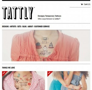 Tattly Responsive Web Design