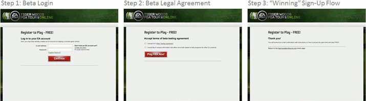 EA Beta Login Winner