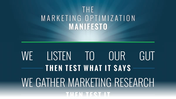 Conversion Optimization Manifesto