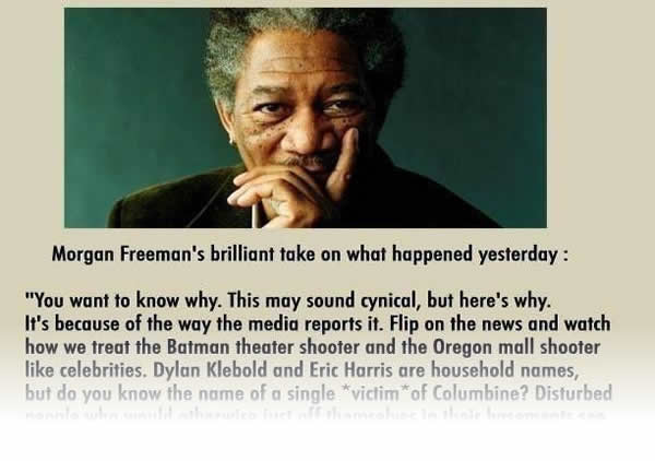Morgan Freeman sells stuff