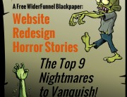 Website Redesign Horror Nightmares