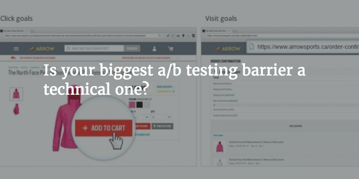 Is your biggest A/B testing barrier a technical one? - WiderFunnel Blog