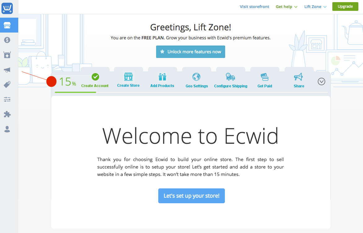 WiderFunnel case study - Ecwid VarA