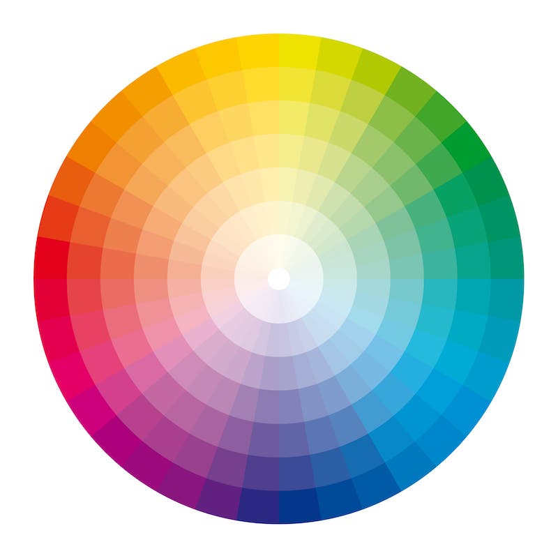 marketing psychology - color wheel