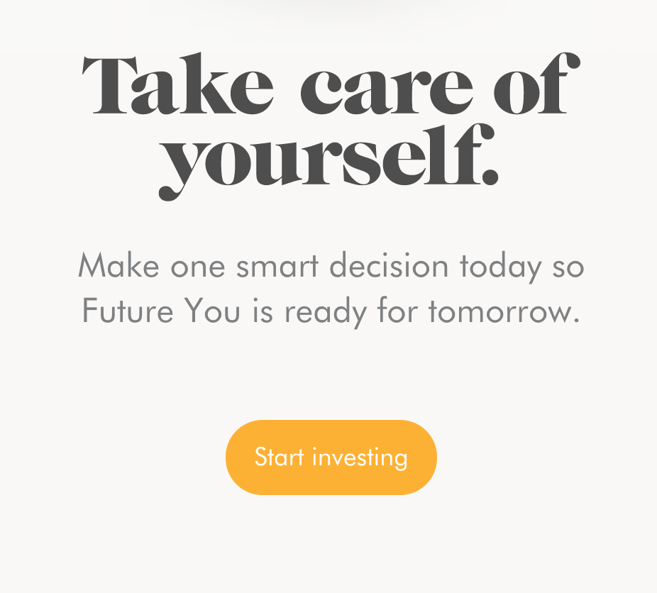 Wealthsimple Call to Action Button