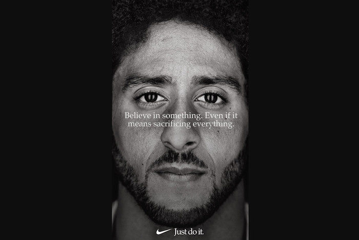 Nike Colin Kaepernick Campaign Brand Activism